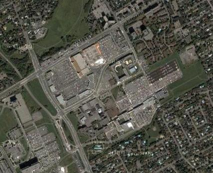 Satellite View of Algonquin College Campus
