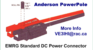 Diagram of an Aderson Powerpole Connector